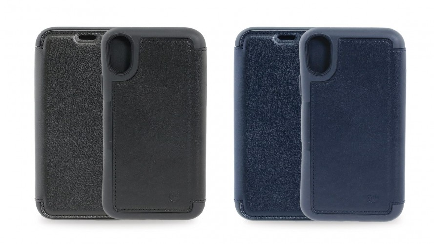 HYBRID CARD FOLIO Impact absorption FOR IPHONE X