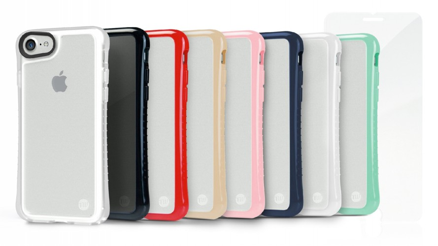 TUNEWEAR HYBRID SHELL + TUNEGLASS Anti shock case for iPhone 8/7