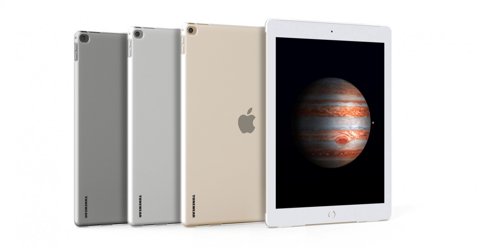 TUNEWEAR eggshell for iPad Pro (12.9インチ) fits Smart Keyboard/Cover