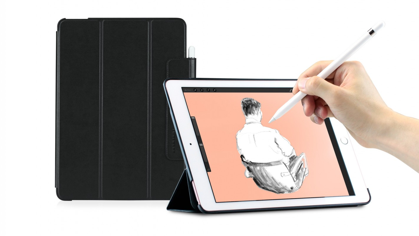 LeatherLook SHELL with Front cover for iPad Pro (9.7inch)