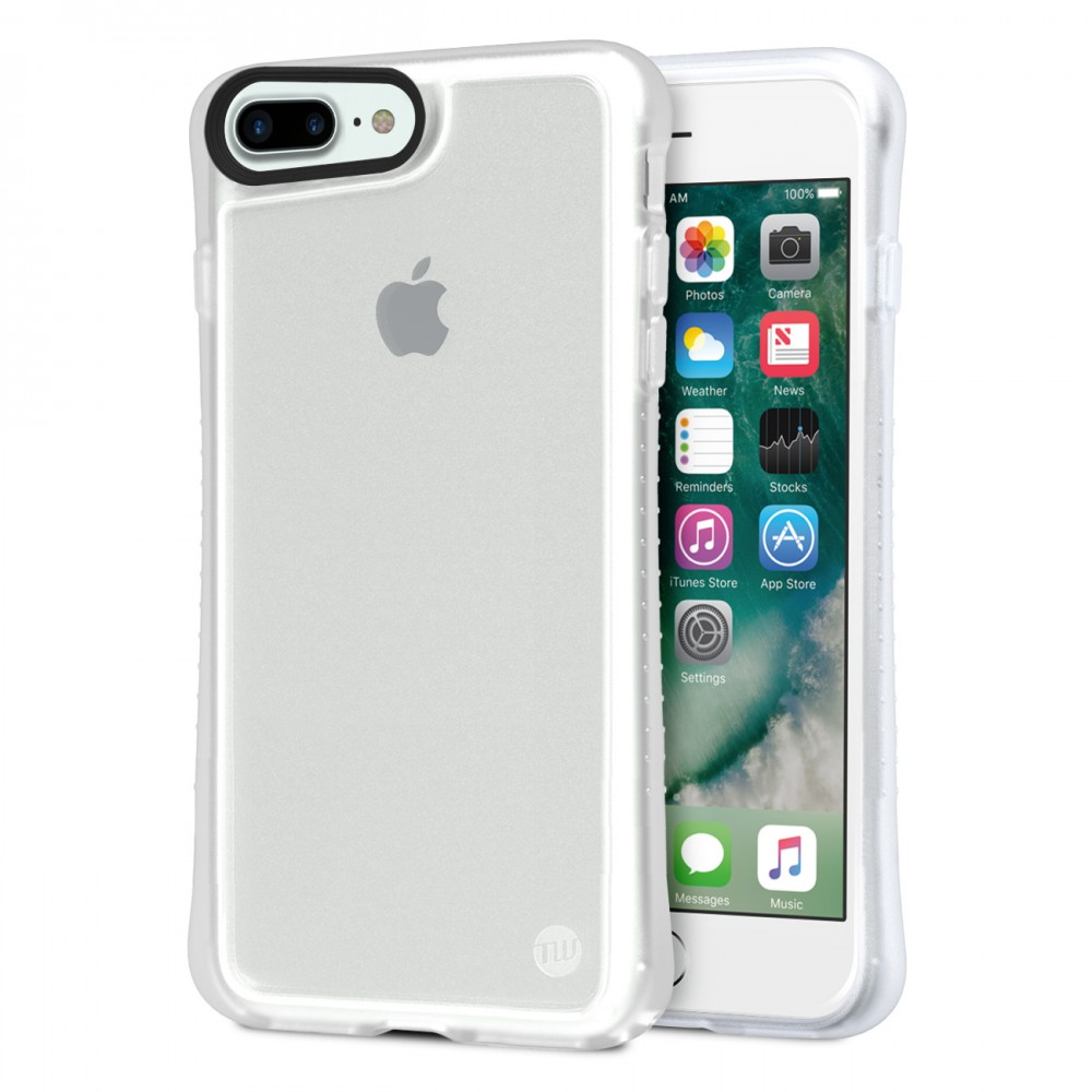official photos 045a6 e984d TUNEWEAR HYBRID SHELL + TUNEGLASS Anti shock case for iPhone 8 Plus / 7 Plus