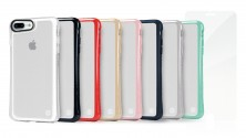 TUNEWEAR HYBRID SHELL + TUNEGLASS Anti shock case for iPhone 8 Plus / 7 Plus