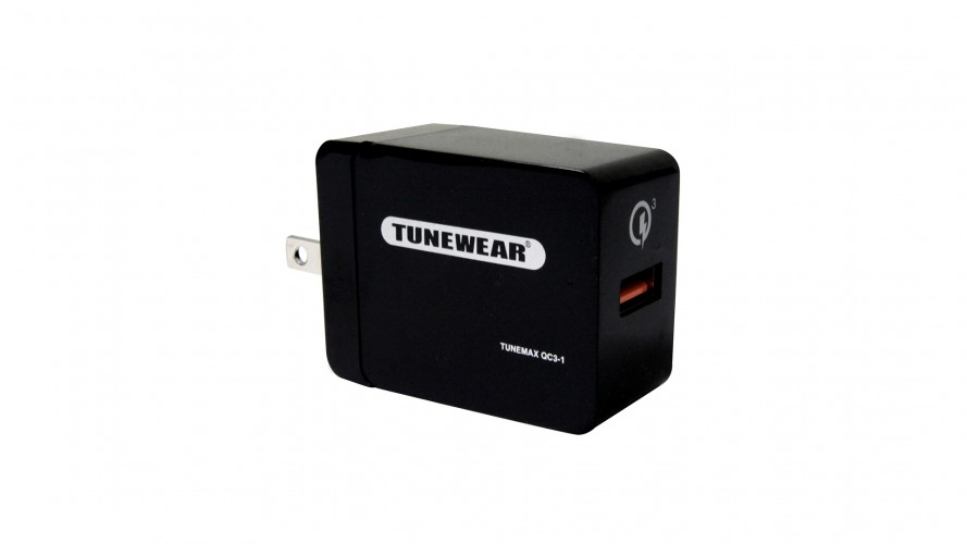 TUNEMAX Quick Charge Compact Adapter QC3-1