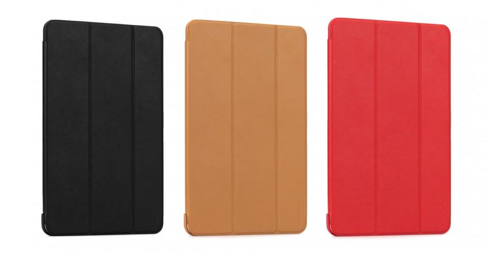 LeatherLook SHELL with Front cover for iPad mini 4