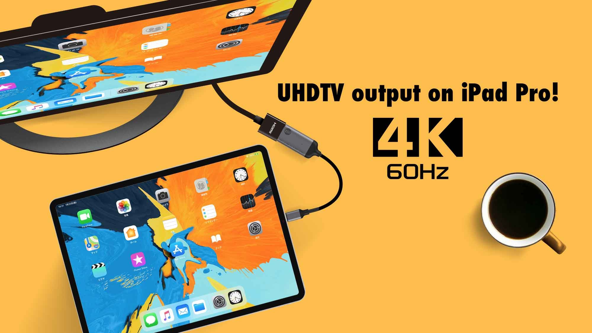 USB-C to HDMI v2.0 4K UHDTV (2160p) Adapter